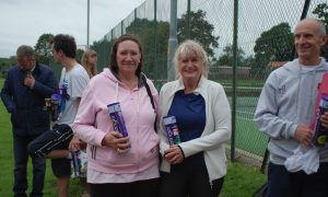 Ladies Doubles Runners Ups