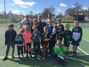 Fantastic tennis camp